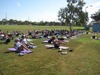 post run yoga