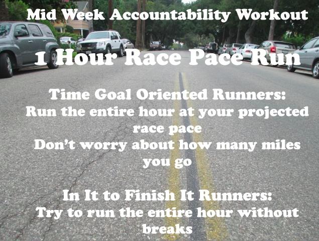 midweek workout